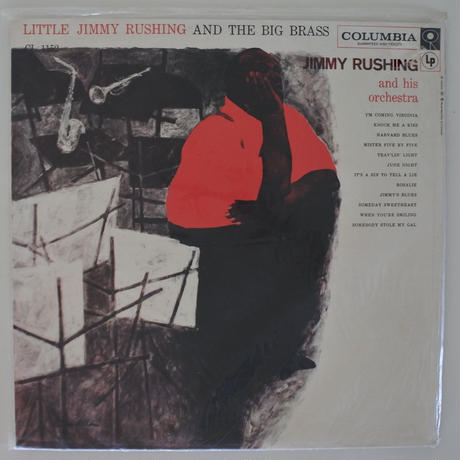 Jimmy Rushing And His Orchestra – Little Jimmy Rushing And The Big Brass(Columbia CL 1152)mono