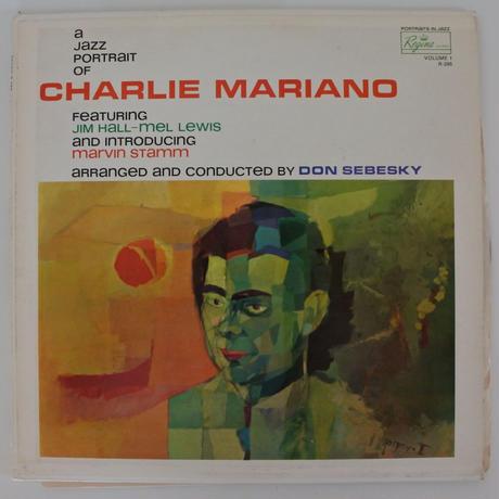 Charlie Mariano  – A Jazz Portrait (Regina Records R286 ) mono