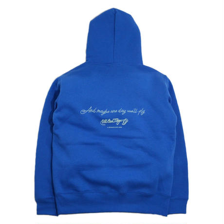 O.G.T SWEAT HOODY (BetterDays) BLUE