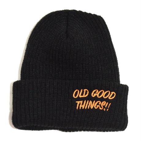 OldGoodThings (O.G.T ORIGINAL WATCH CAP) BLACK