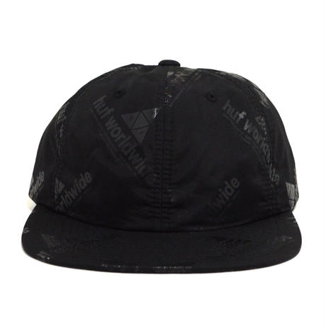HUF 6PANEL CAP (PEAK 6PANEL) BLACK