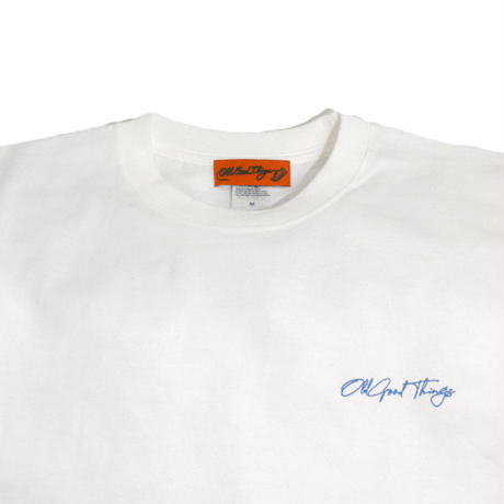 OldGoodThings S/S T-SHIRTS (Sing-Neon) WHITE