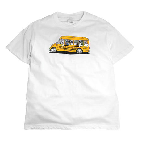 RIPNDIP S/S T-SHIRTS (SCHOOL BUS) WHITE