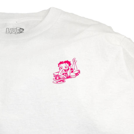 HUFL/S T-Shirts (HUF x BETTY BOOP) WHITE
