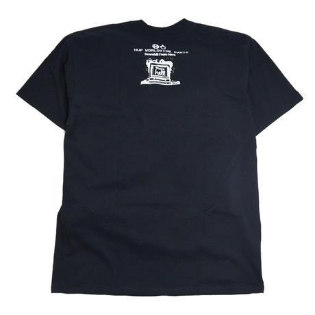 HUF S/S T-SHIRTS (Y2K DAY) BLACK
