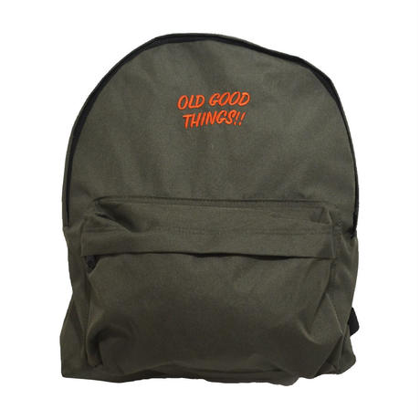 OldGoodThings HOLIDAY BAG (O.G.T ORIGINAL) OLIVE