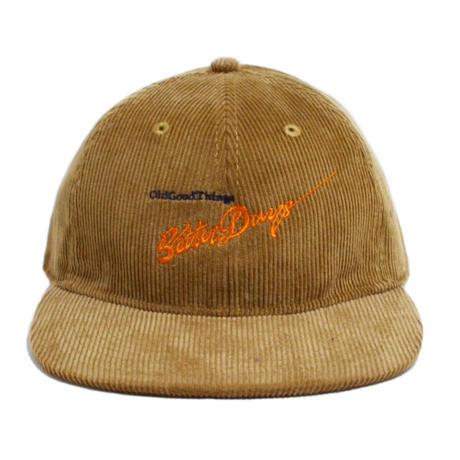 O.G.T CORDUROY 6PANEL CAP (BetterDays) BEIGE