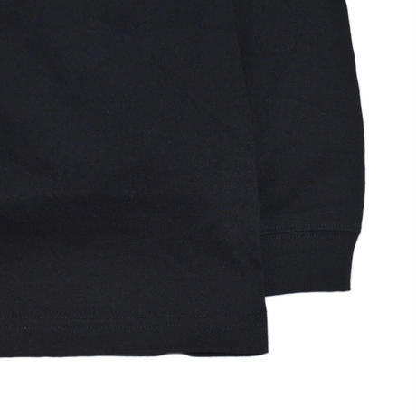 OILWORKS L/S T-SHIRTS (EL NINO) BLACK