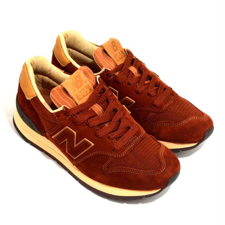 NEW BALANCE (M995 MADE IN USA) BROWN