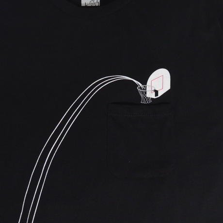 RIPNDIP S/S T-SHIRTS (Hoops Pocket) BLACK