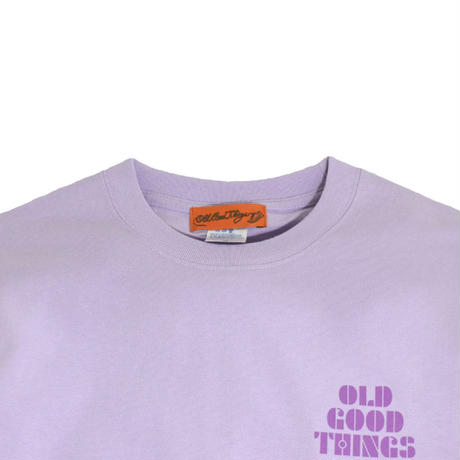 O.G.T L/S T-SHIRTS (MOMENT) L.PURPLE