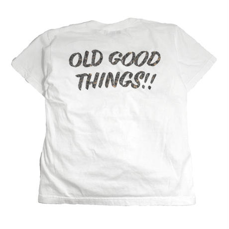OldGoodThings S/S T-SHIRTS (SURVIVOR) WHITE