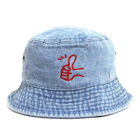 OldGoodThings BUCKET HAT (Goody) WASH DENIM