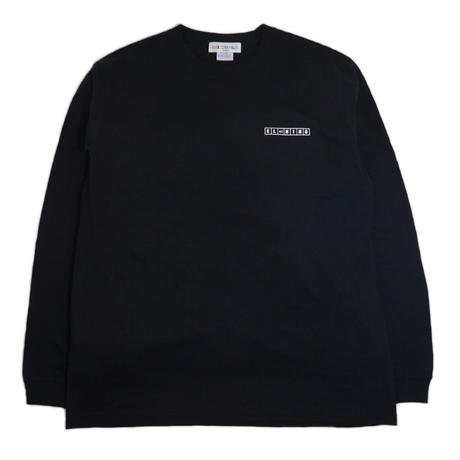 OILWORKS L/S T-SHIRTS (EL NINO MIX TAPE) BLACK