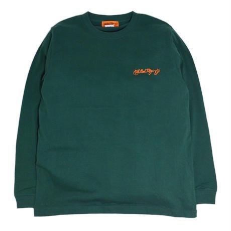 O.G.T L/S T-SHIRTS (BADGES) IVY GREEN