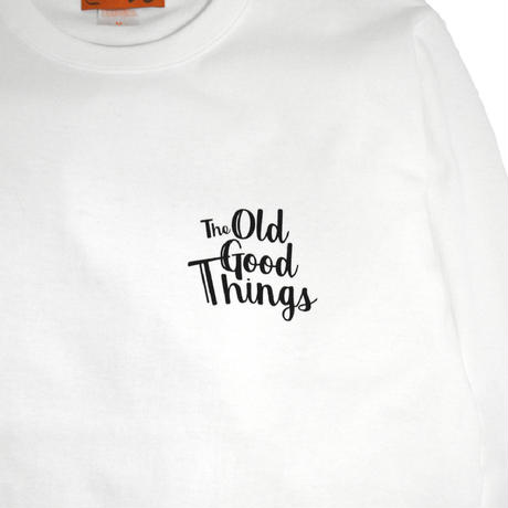 OldGoodThings L/S T-SHIRTS (WEEKEND) WHITE