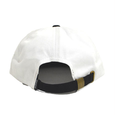 RIPNDIP (6PANEL CAP) WHITE / BLACK