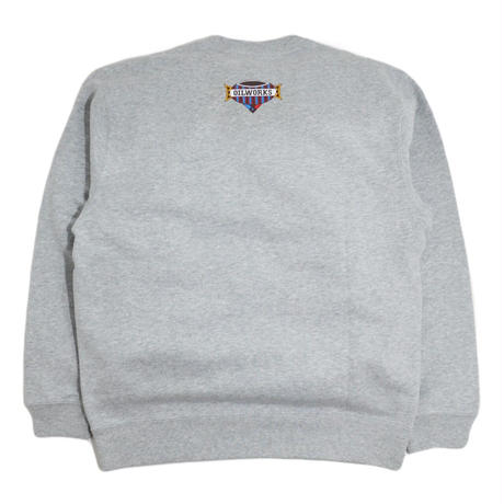 OILWORKS CREWNECK SWEAT (PIANITY) GREY