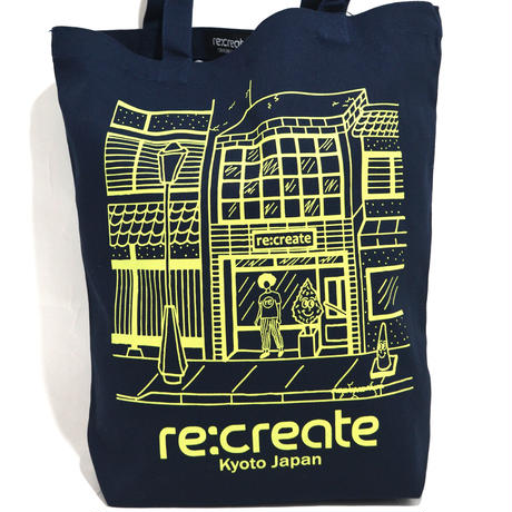 re:create ORIGINAL TOTE BAG M SIZE (Comfort Zone) NAVY