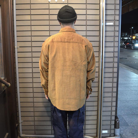 OldGoodThings L/S CORDUROY SHIRTS (FUTURE-SP VER.) CAMEL