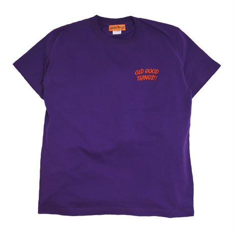 OldGoodThing S/S T-SHIRTS (GOOD PLAYER) PURPLE