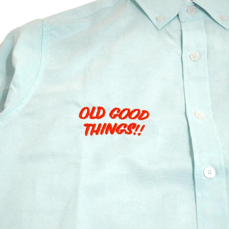 OldGoodThings L/S OX SHIRTS (ALL GOOD DAY) MINT