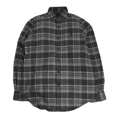 POLO RALPH LAUREN L/S FLANNEL SHIRTS(CLASSIC FIT)GREY