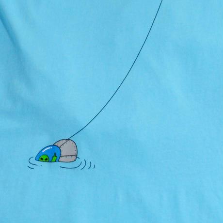 RIPNDIP S/S T-SHIRTS (Forign Fish Pocket) L.BLUE