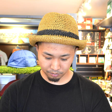 NO BRAND (PAPER HAT) CAMEL/BLACK