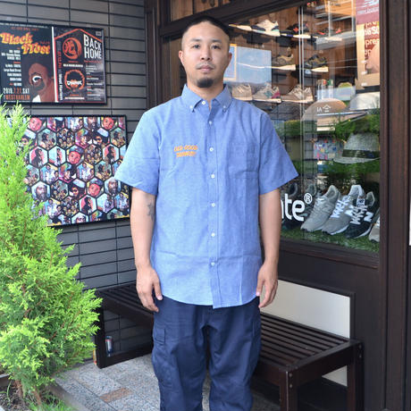 OldGoodThings S/S OX SHIRTS (ALL GOOD DAY) L.NAVY