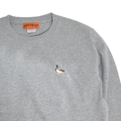 OldGoodThings L/S T-SHIRTS (RIVER SIDE) GREY