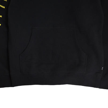 HUF SWEAT HOODY (HUF X PulpFiction [MIA TT]) BLACK
