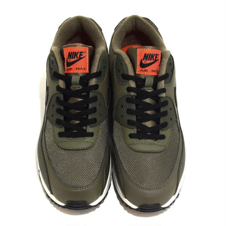 NIKE (AIR MAX 90 ESSENTIAL) OLIVE/ORANGE