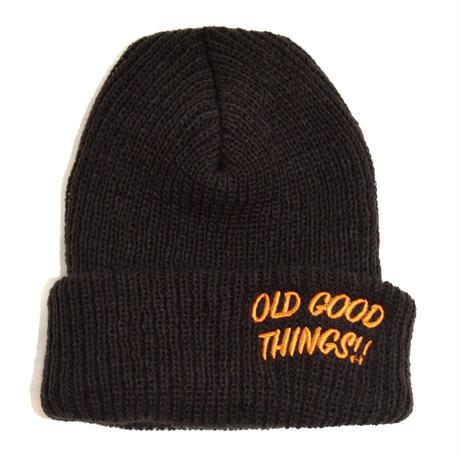 OldGoodThings (O.G.T ORIGINAL WATCH CAP) BROWN