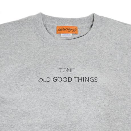 O.G.T S/S T-SHIRTS (TONE.) H.GREY