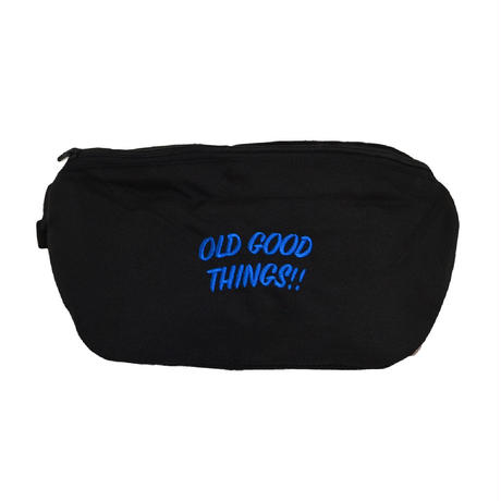 [10月1日発売]OldGoodThings MINI SHOULDER BAG Ver.03(O.G.T ORIGINAL) BLACK