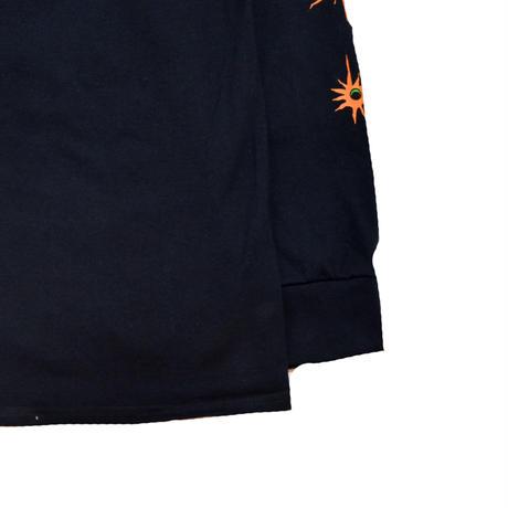 HUF L/S T-SHIRTS (FINAL BOSS) BLACK