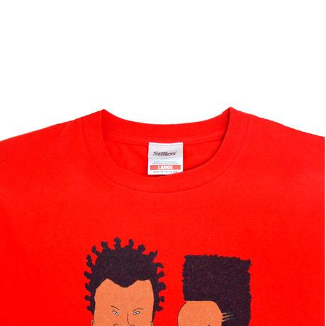 STILLAS S/S T-SHIRTS (BLACK B&B) RED