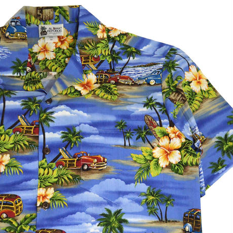 SELECT ALOHA S/S ALOHA SHIRTS (MADE IN HAWAII) AL-01