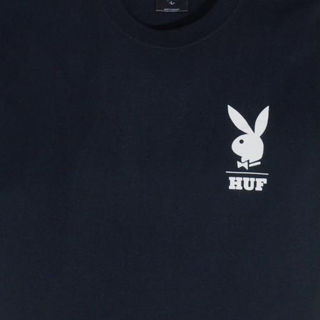 HUF S/S T-SHIRTS (PLAY BOY x HUF) BLACK