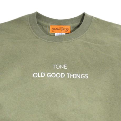 O.G.T S/S T-SHIRTS (TONE.) L.OLIVE