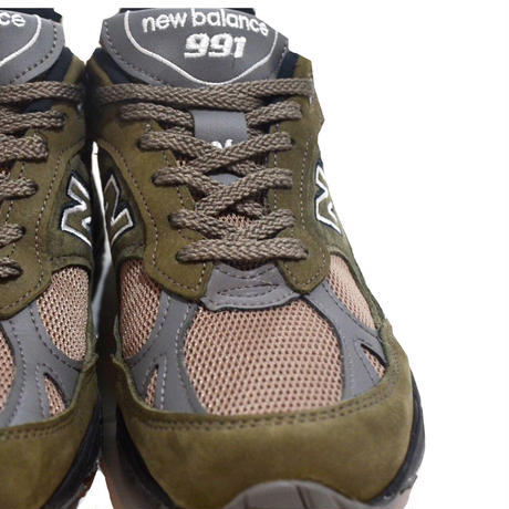 NEW BALANCE (M991 MADE IN ENGLAND)OLIVE/BLACK