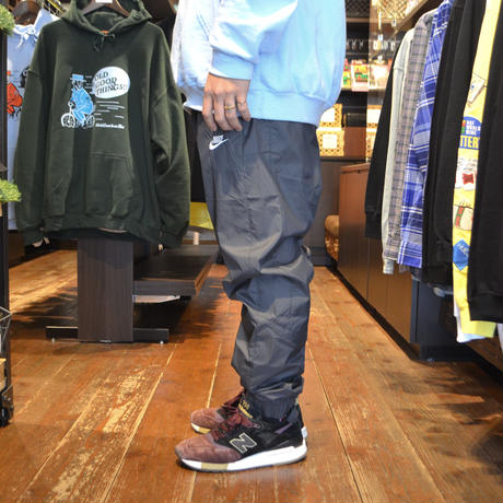 NIKE NYLON PANTS (WVN CORE TRK) CHARCOAL