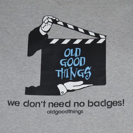O.G.T L/S T-SHIRTS (BADGES) GREY