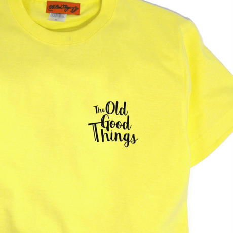 OldGoodThings S/S T-SHIRTS (WEEKEND) L.YELLOW