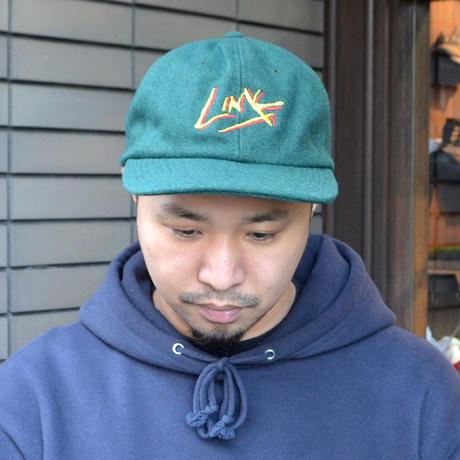 O.G.T 6PANEL WOOL CAP (LINK) D.GREEN