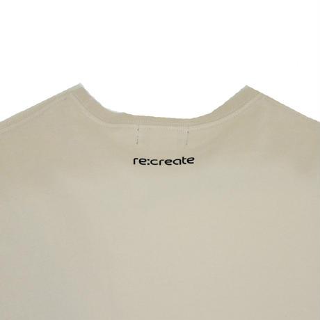 re:create S/S T-SHIRTS (CHOUCHIN) S.BEIGE