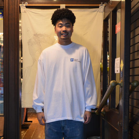 Only NY L/S T-SHIRTS (Wildlife Division) WHITE