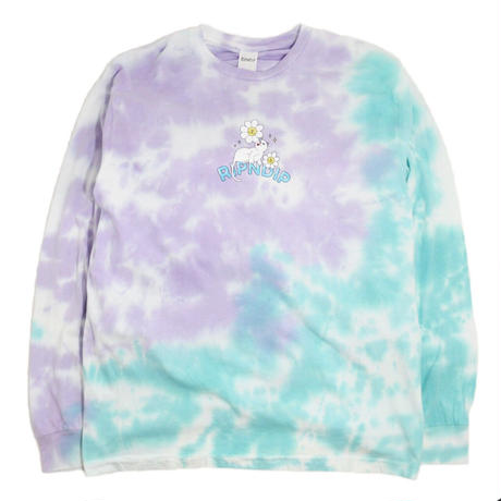 RIPNDIP L/S T-SHIRTS (Magical Place) TIE DYE WASH