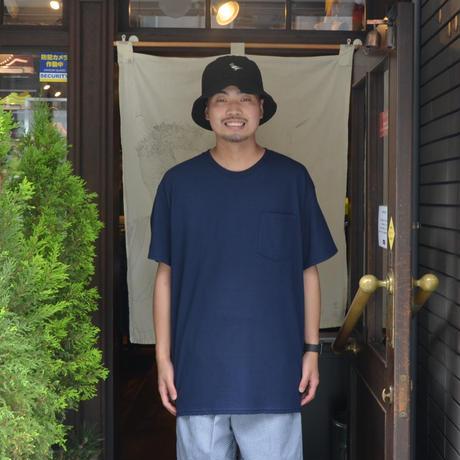re:create (S/S 無地 POCKET T-SHIRTS) NAVY
